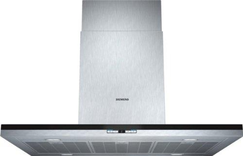 Siemens LF98BC542 iQ500 Inselhaube / 90 cm / Wahlweise Abluft- oder Umluftbetrieb / Metall-Fettfilter, spülmaschinengeeignet / edelstahl