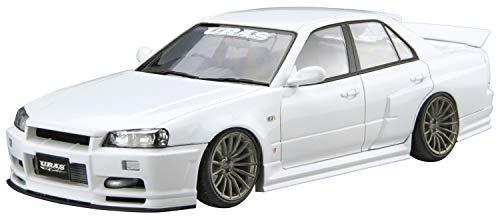 1/24 ザ・チューンドカー No.4 URAS ER34 スカイライン TYPE-R '01 (ニッサン)