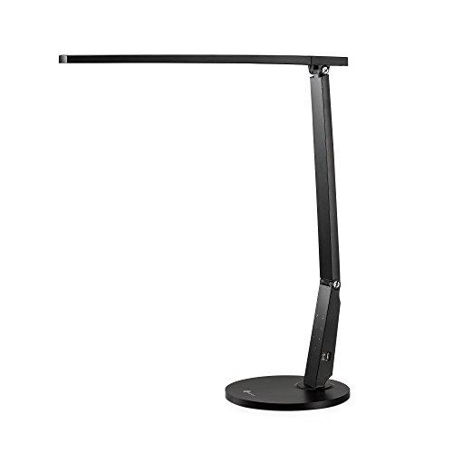 Schreibtischlampe LED TaoTronics 15W Tischlampe groß Schreibtischleuchte 4 Modi & 4 Helligkeitsstufen Tageslichtlampe, Augenschutz,...