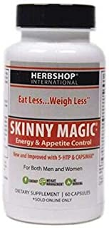 Skinny Magic® - with Hi Energy - Weight Loss - Metabolism Boost for Women and Men - Sugar Cravings - 60 Capsules (1 to 2 Month Supply)