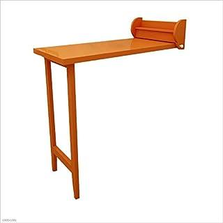 Dongy Table Pliante en Bois Massif Table de Salle à Manger escamotable Murale Bureau Pliable de Bureau pour Enfants (Color...