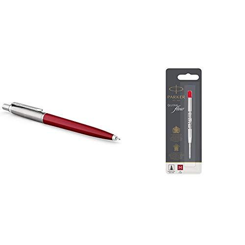 Parker Jotter Originals Colección de bolígrafos, acabado clásico rojo, punta mediana, tinta...