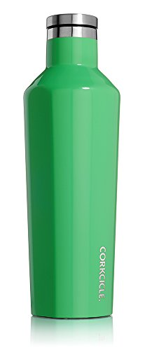Corkcicle Canteen Water Bottle Caribbean Green Womens 16oz