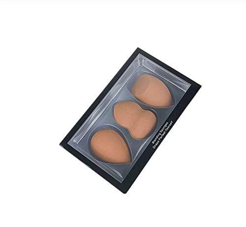KUSAWE Éponge de maquillage 3pcs / lot Gros Maquillage éponge feuilletée cosmétiques forment la Fondation Masque beauté éponge Poudre feuilletée Q
