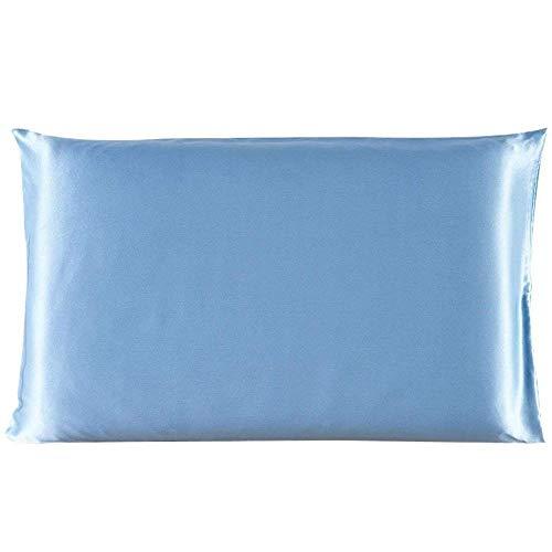 HNLHLY kussensloop, zijde, satijn, polyester, standaardgrootte, groot, meerkleurig, 1 stuk