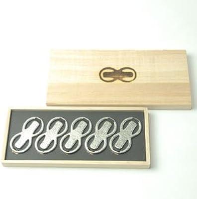 【能作】 錫箸置「8」5ヶ入