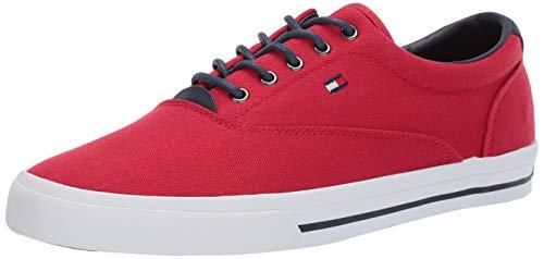 Price comparison product image Tommy Hilfiger Men's Phel Sneaker,  red / Multi,  10 M US