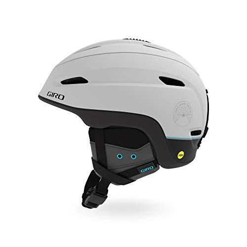 Giro Zone MIPS Snow Helmet - Matte Light Grey/Element - Size M (55.5-59cm)