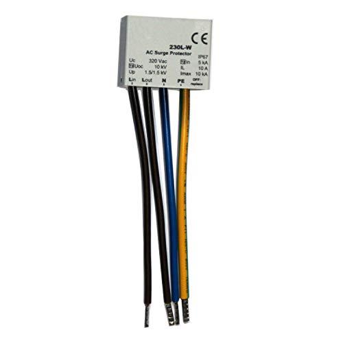 Überspannungsschutz für LED Beleuchtung – integrierte Zustandsanzeige MLPX1 Typ 2+3 IP67