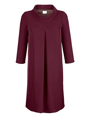 Alba Moda Damen Kleid Beere 36 Kunstfaser
