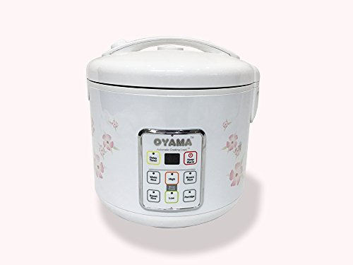 OYAMA 10 Cup MICROCOMPUTER MULTI-FUNCTION RICE COOKER AND SLOW COOKER - Model: CAC-A18U