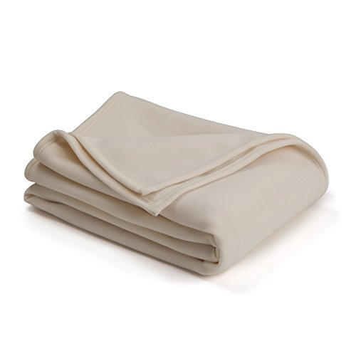 The Original Vellux Blanket - King, Soft, Warm, Insulated, Pet-Friendly, Home Bed & Sofa - Ivory