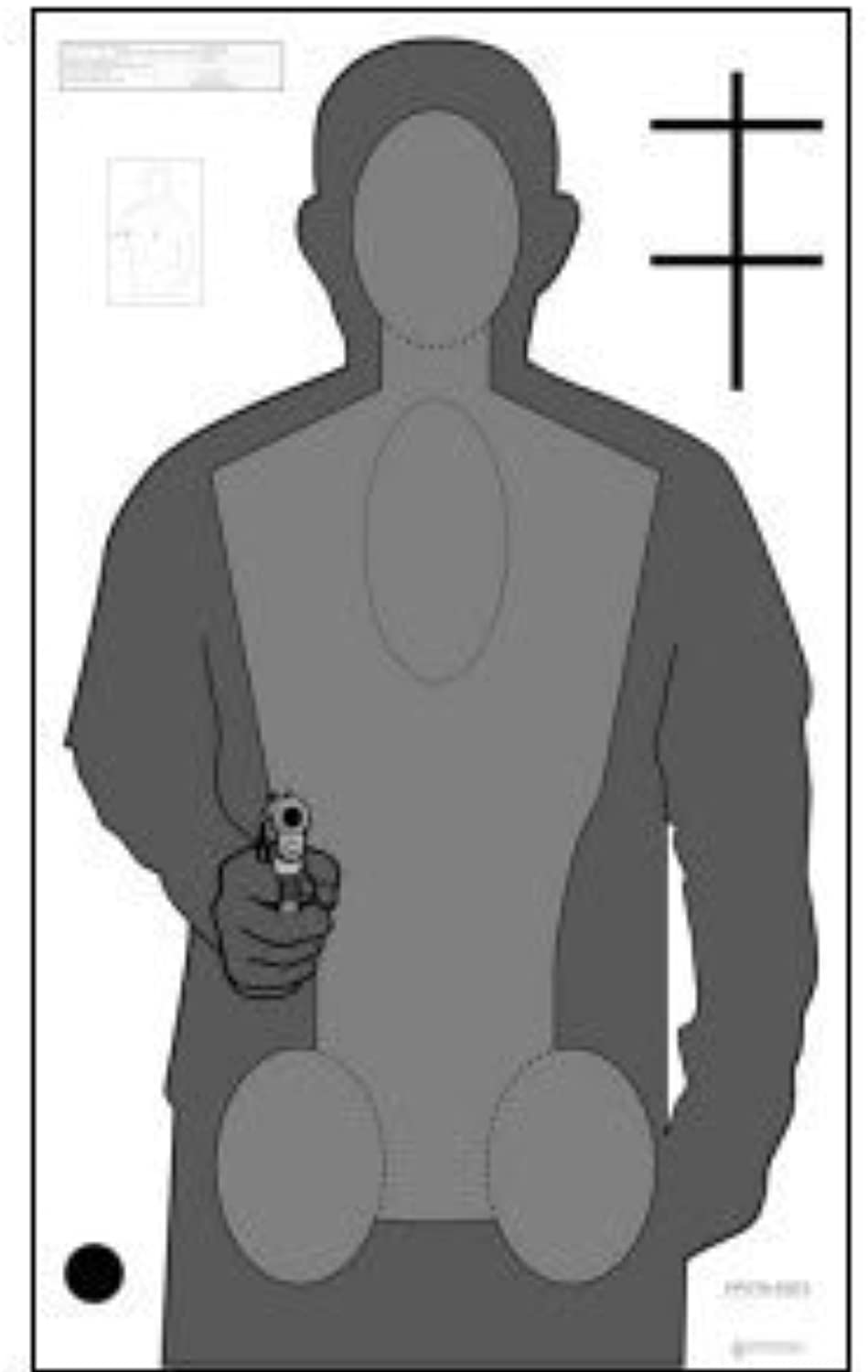 New 2010opota Qualifikation Target 50PACK BY LAW ENFORCEMENT Ziele