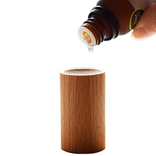 Essential Oil diffused Wood -Aromatherapy Diffuser for Essential Oils- Car diffused Wood - Refreshing - Sleep aid - for Bedroom/Beauty Salon/Meditation, by HOSSIAN(2pcs)