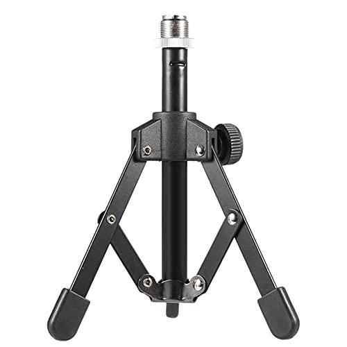 MS-12 Mini pieghevole Desktop Tablet Tripod Microphone Mic Stand Holder
