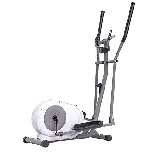 YAJIAN Máquina elíptica, Control magnético plegable Fitness Cross Trainer Capacitación Ellíptica Máquina...