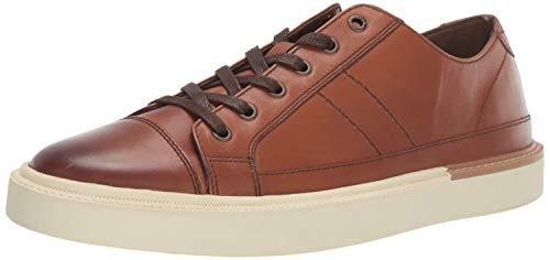 Lucky Brand Men's Dawson Sneaker, Butterscotch Leather, 12 M US