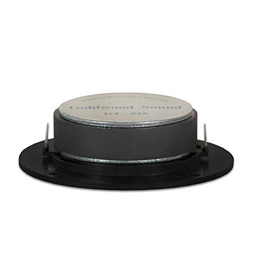 Inc. Goldwood Sound 200 Watts 8ohm Silk Dome Speaker Tweeter Black GT-525