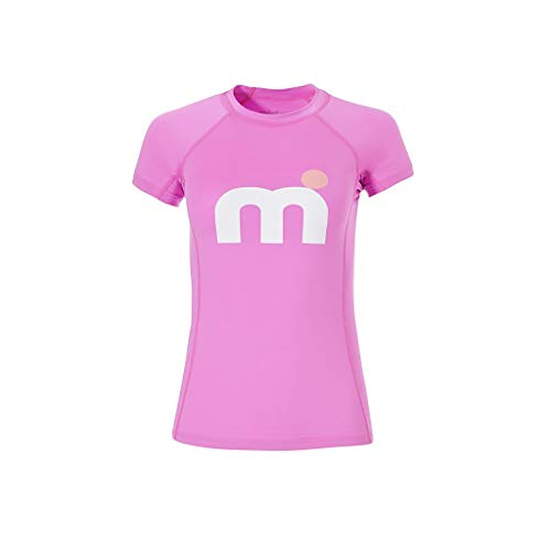 MISTRAL Damen Kurzarm Lycra Miami Surf Tops, Pink Fluor, M