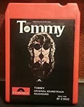 Tommy Original Soundtrack Recording (Original 1975, DOUBLE PLAY 8-Track Tape With 32 Songs Featuring: The Who, Eric Clapton, John Entwistle, Keith Moon, Paul Nicholas, Jack Nicholson, Robert Powell, Pete Townshend, Tina Turner, Ann Margret, Oliver Reed, Roger Daltrey, Elton John)
