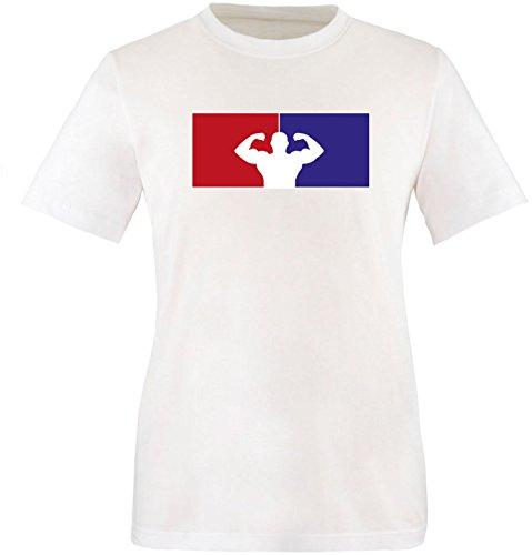 EZYshirt® Fitness Herren Rundhals T-Shirt