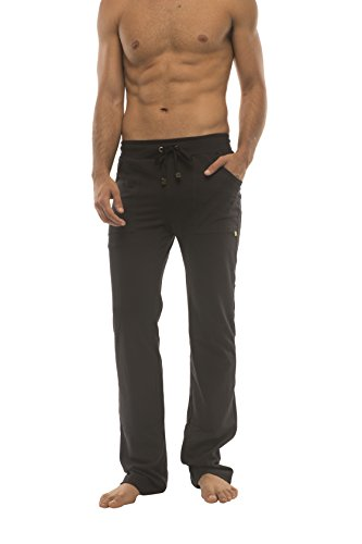 4-rth Ultra Flex Yoga Track Pant (Medium, Black w/Black & Black)