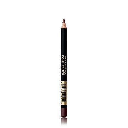 Max Factor Matita Occhi Kohl Pencil, Eyeliner con Texture Morbida Facile da Sfumare, 030 Brown