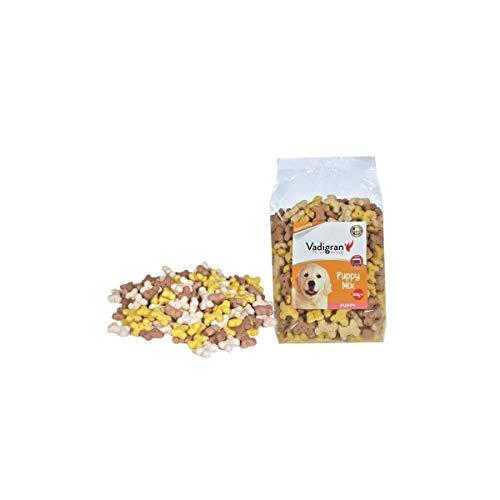 VADIGRAN Biscotti Snack per Cani Cuccioli e di Taglia Piccola con Carne e vitamine - Confezione da 500 gr - 500 ml