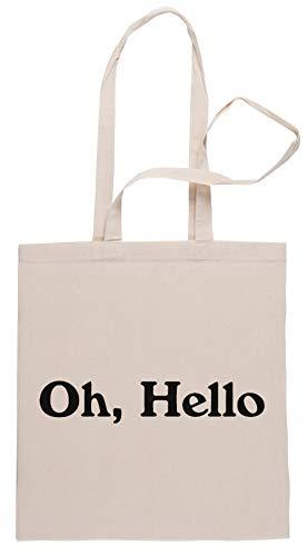Rundi Oh, Hello Bolsa De Compras Shopping Bag Beige