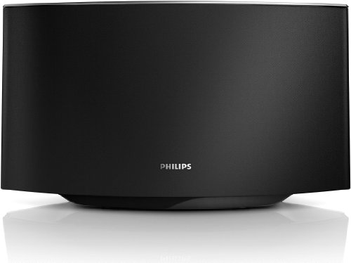 Philips Fidelio AD7000W/12 Sound Avia AirPlay-Lautsprecher (40 Watt RMS) mit Easy-AirPlay, schwarz/silber