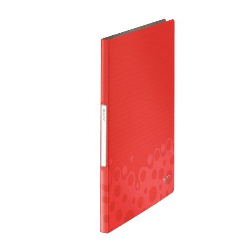 Leitz Sichtbuch Bebop, A4, PP, 20 Hüllen, rot