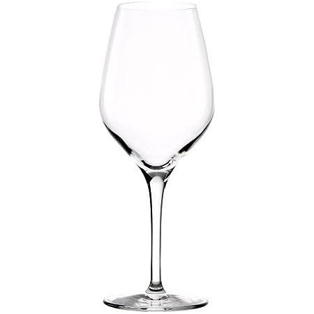 Verres à Vin Blanc Séries Exquisit de Stölzle Lausitz, 350ml, set de 6 pièces, lave-vaisselle garanti: verres à vin nobles de haute qualité, stables et durables