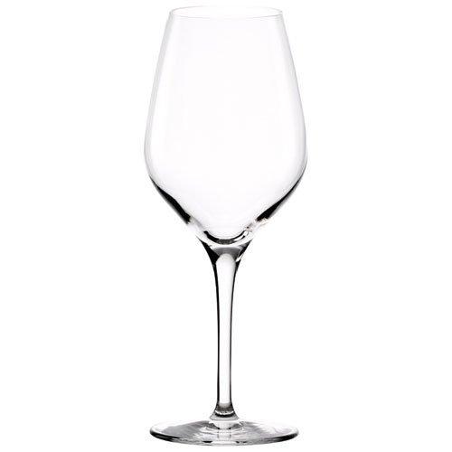Stölzle Lausitz Exquisit Weißweinkelche, 350ml, 6er Set, spülmaschinenfest: Edle Weingläser von hoher Qualität, stabil und robust
