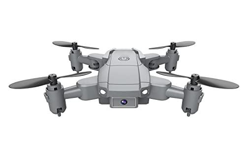 FDSGEWW 1080P Mini Dron Plegable HD Ultra Gran Angular Fotografía Aérea Quadrocopter Aviones De Control Remoto De Larga Duración 3.7V 500mAh Color En Caja Gris