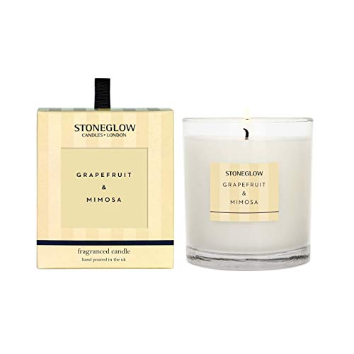 Stoneglow Grapefruit and Mimosa Tumbler Candle 6811