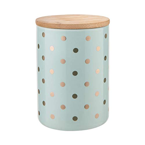 Butlers Queen IT Aufbewahrungsdose Höhe 14 cm - Dekoration - Dose - Schale - mit Deckel - Innenausstattung - Bambus