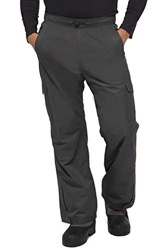 "Arctix Men's Sentinel Pull Over Fleece-Lined Cargo Snow Pants (Charcoal, XX-Large/30"" Inseam)"