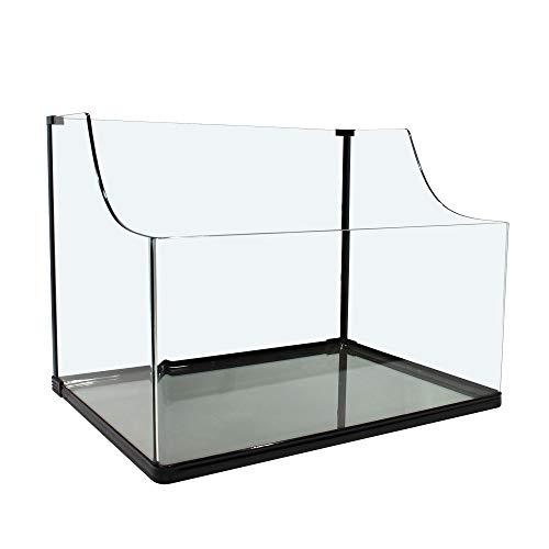 Glas-Aquarium/Paludarium 60x45x45,5cm, ca.81L,Molche,Schildkröten,Pflanzen,Fisch