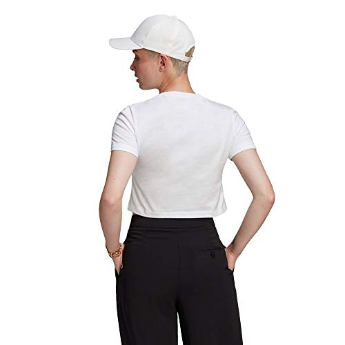 adidas GN2803 Crop Top T-Shirt Womens White 44