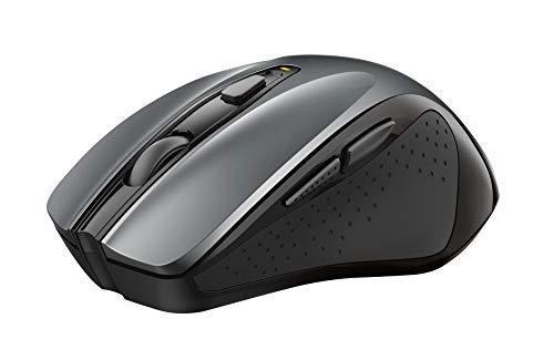 Trust Nito Kabellose Maus, Ergonomische Funkmaus, USB-Mikroempfänger, 800/1200/1600/1800/2200 DPI, 6 Tasten, PC/Mac/Computer/Laptop/MacBook/Chromebook