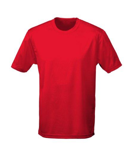 T shirt AWDis à manches courtes cool pour homme - Rouge - XX-Large