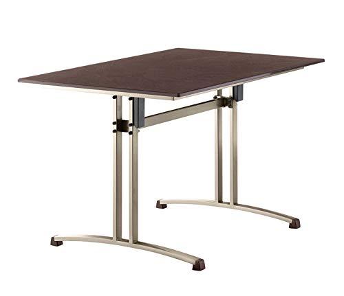 SIEGER Tisch Gartentisch Puroplan klappbar Gastro-Tisch 120 x 80 cm
