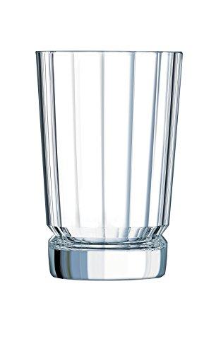 Cristal D' Arques 7501614BTE di 6Boccali da Birra Forma Alta 36cl, Cristallino, Trasparente, 27,9x 18,8x 13,8cm