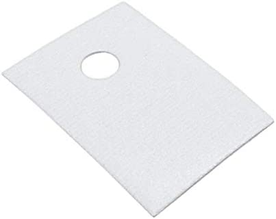 Sale THERM PAD 19.05MMX12.7MM Spring new work one after another WHITE of Pack 100