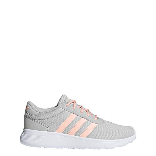 Adidas Lite Racer, Zapatillas de Deporte para Mujer, Gris (Gridos/Narcla/Ftwbla 000), 36 2/3 EU