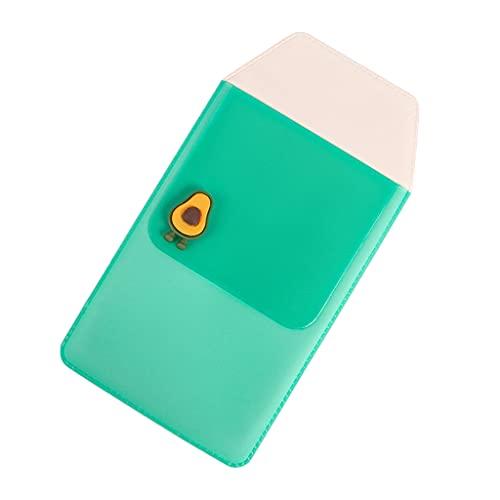 HaoNiu Bolsillo para bolígrafo, PVC Bolsillo para bolígrafo Estuche para lápices Margarita Rosa/Ciervo Rosa/Estrella de mar púrpura Organizador de papelería para Enfermera Hospital Office-E