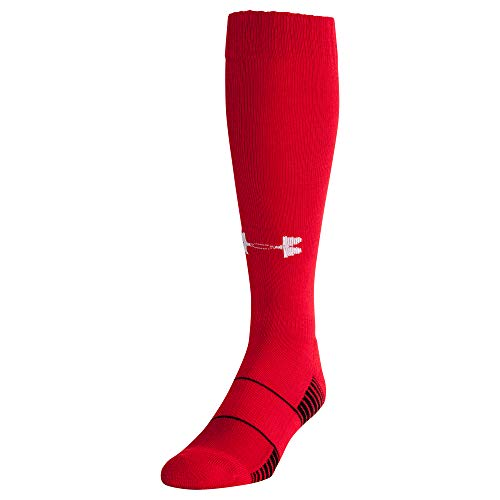 Under Armour Over-The-Calf équipe pour Homme – Rouge, Grand