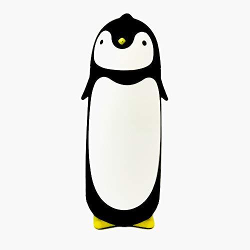 Termo de acero inoxidable con diseño de pingüino de 280 ml