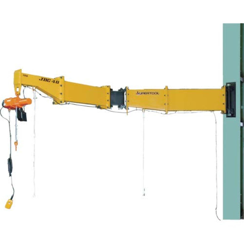 処理圧縮神話スーパー 二速電動チェーンブロック付ジブクレーン 溶接型?柱取付式 JBCT1520H