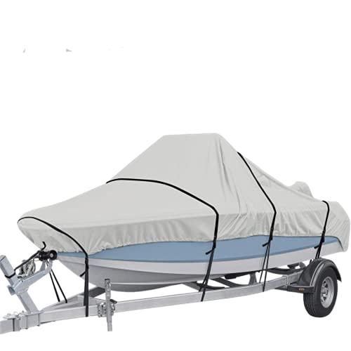 Funda de Barco Impermeable de Tela Oxford Plateada Funda de Barco protección Solar y protección UV Tipo V